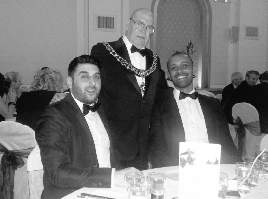 Lord Mayor with Nirvana