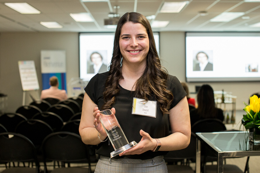 Cloé Doucet: Emerging Leader Winner