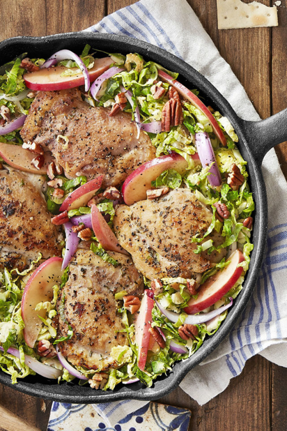 Don't chicken out! Try this apple recipe. -