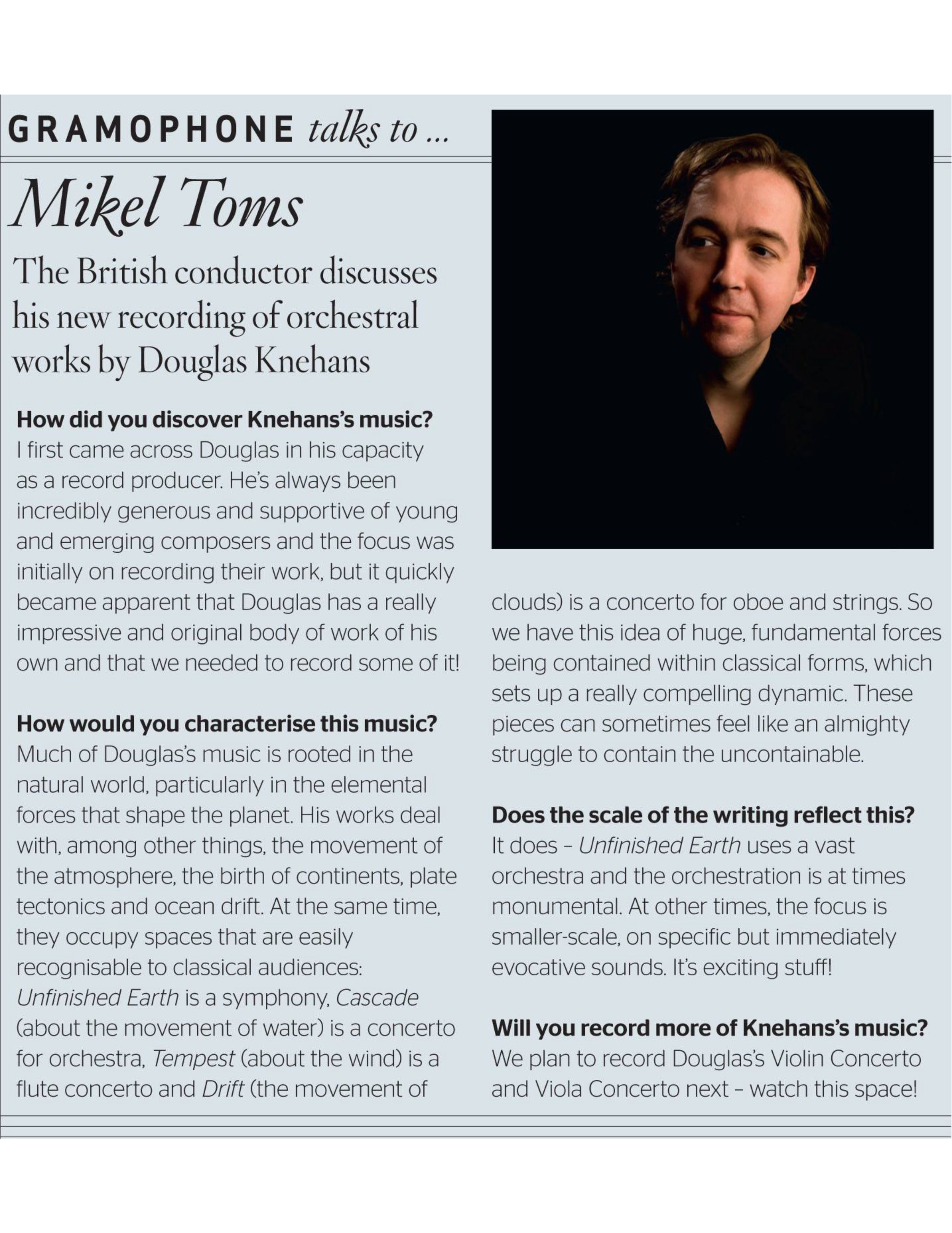 Gramophone-Toms Interview.png