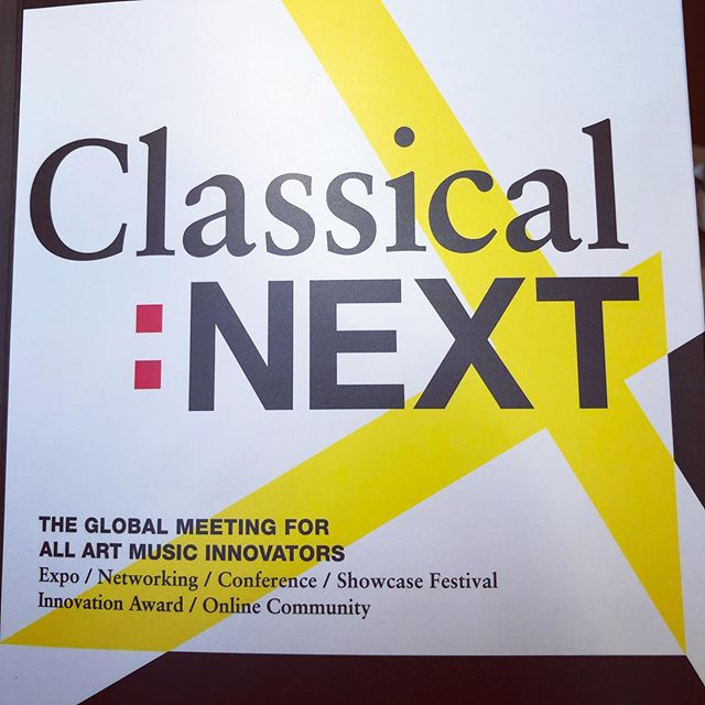 At Classical:NEXT representing ABLAZE Records and my own compositions.