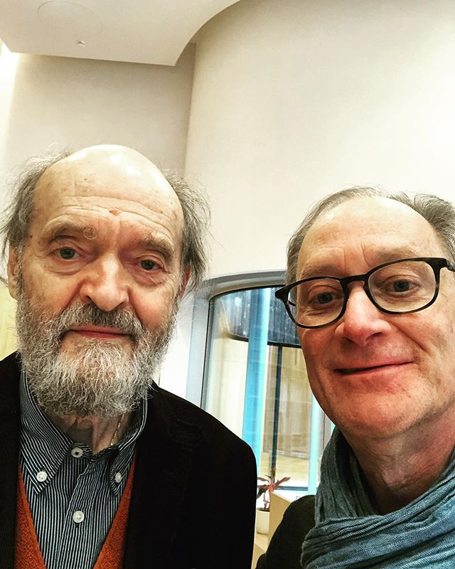 An amazing privilege to meet and share my music wit Arvo Pärt at his center in Estonia.