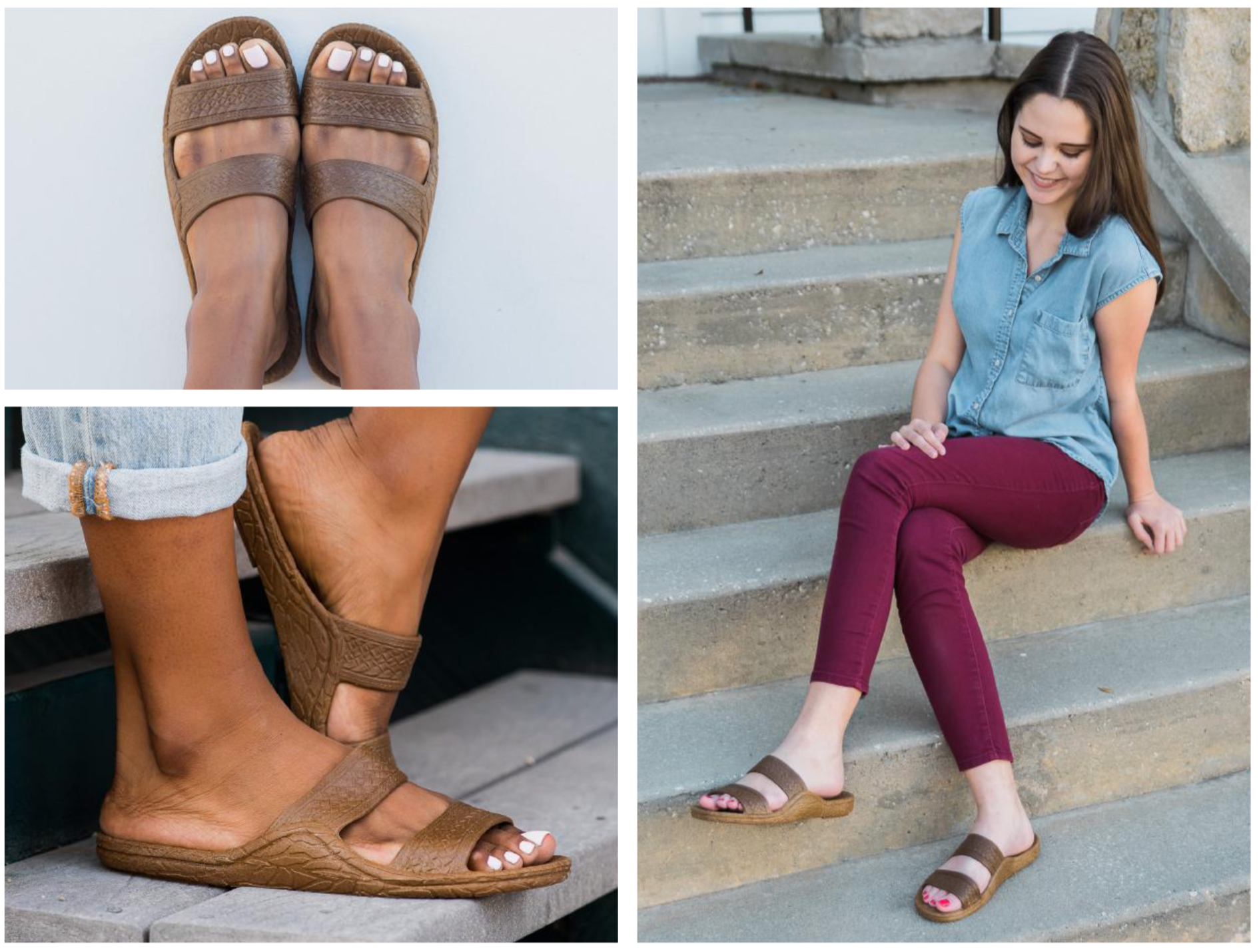 Classic Jandal in Brown