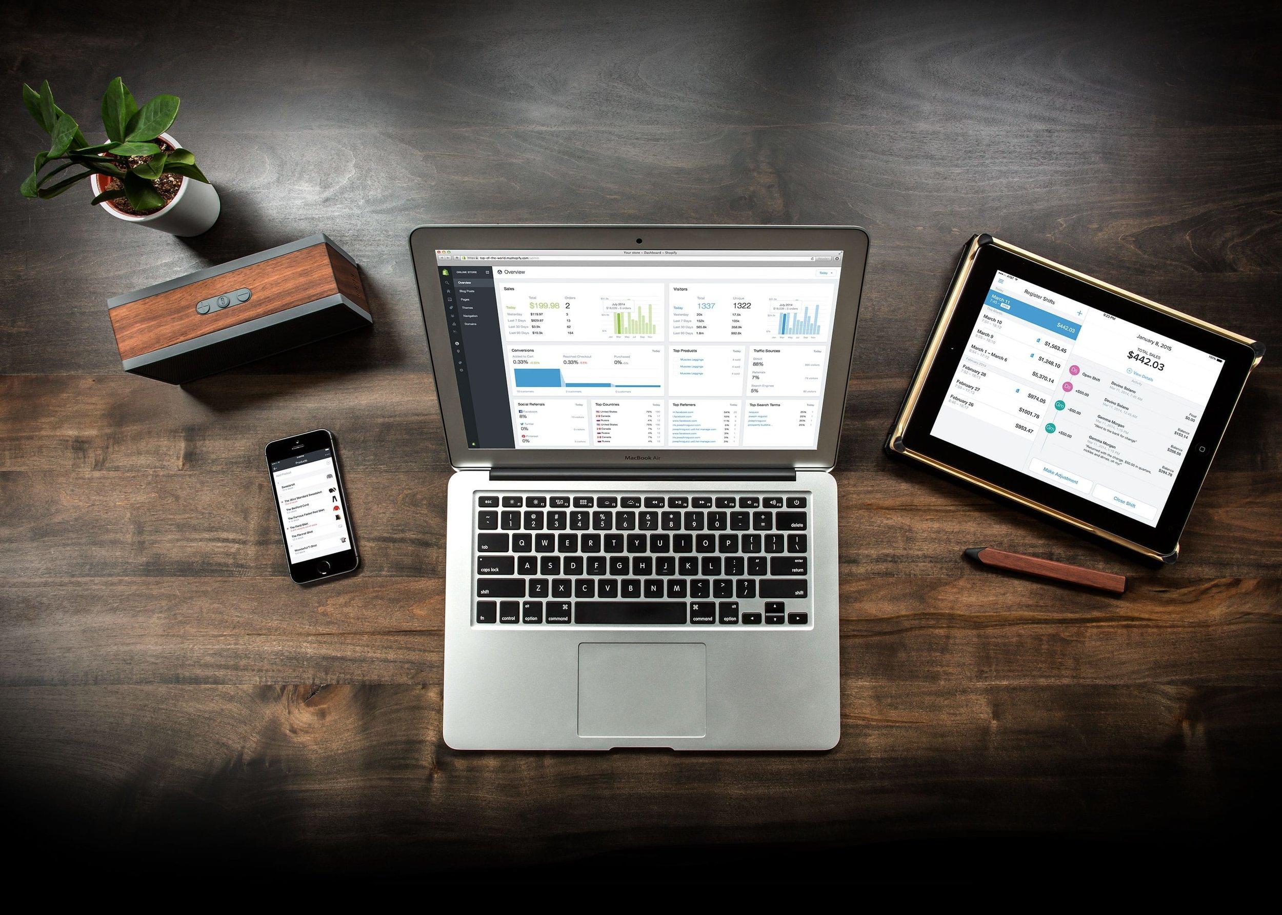 نظام ولوحة تحكم واحدة للإدارة تجارتك الالكترونية ومشروعك بالكامل -