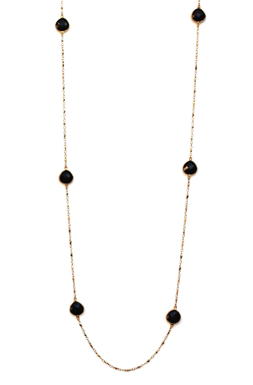 Floatting Gem Necklace $325