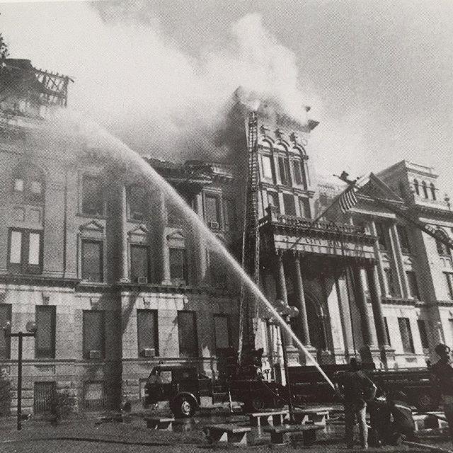 September 12, 1979. Jersey City City Hall Fire.