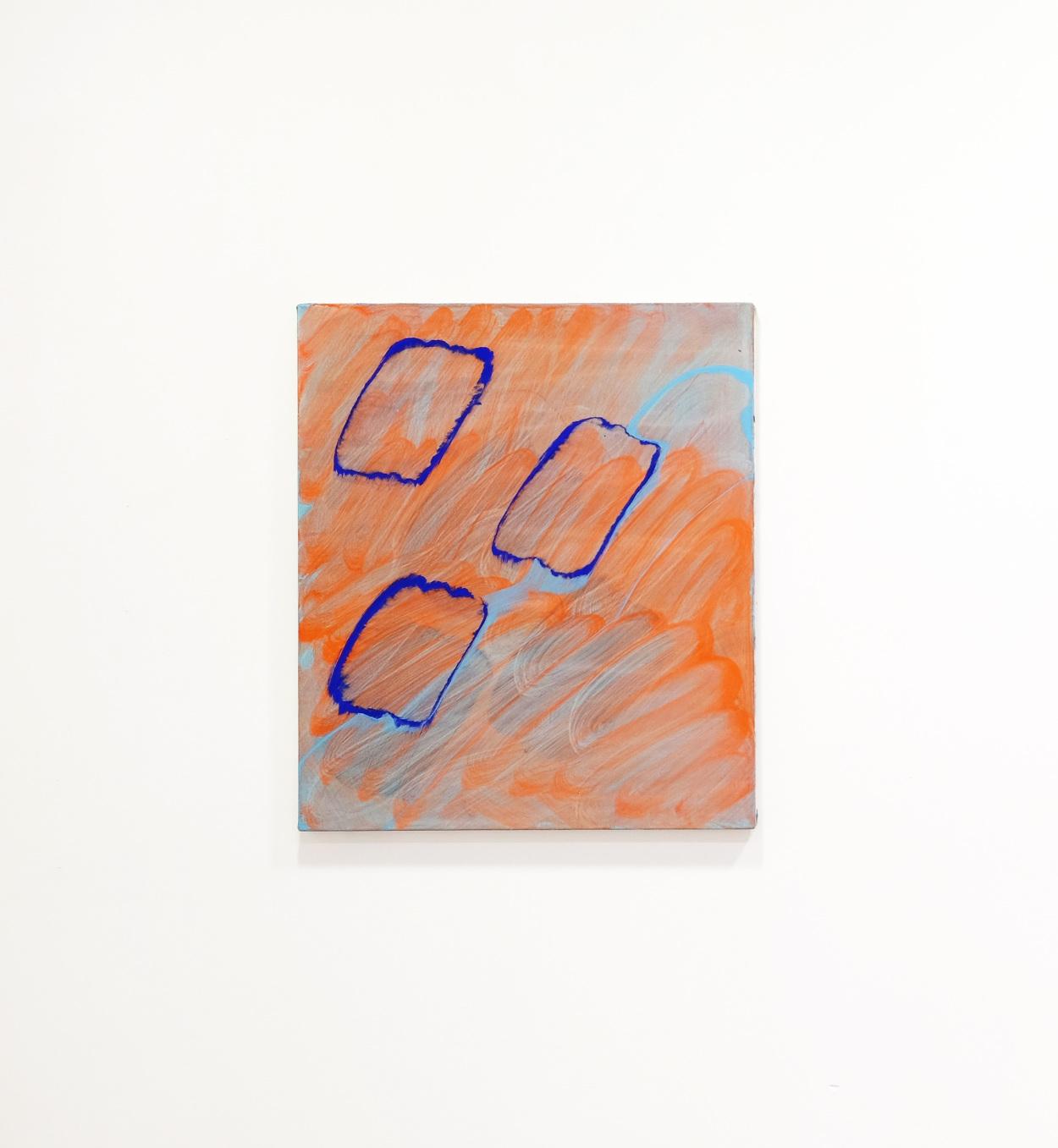 Goia Mujalli, Stream, Acrylic on canvas, 2016