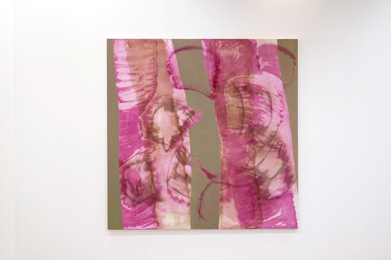 Goia Mujalli, Bamboo, Oil on Canvas, 2016