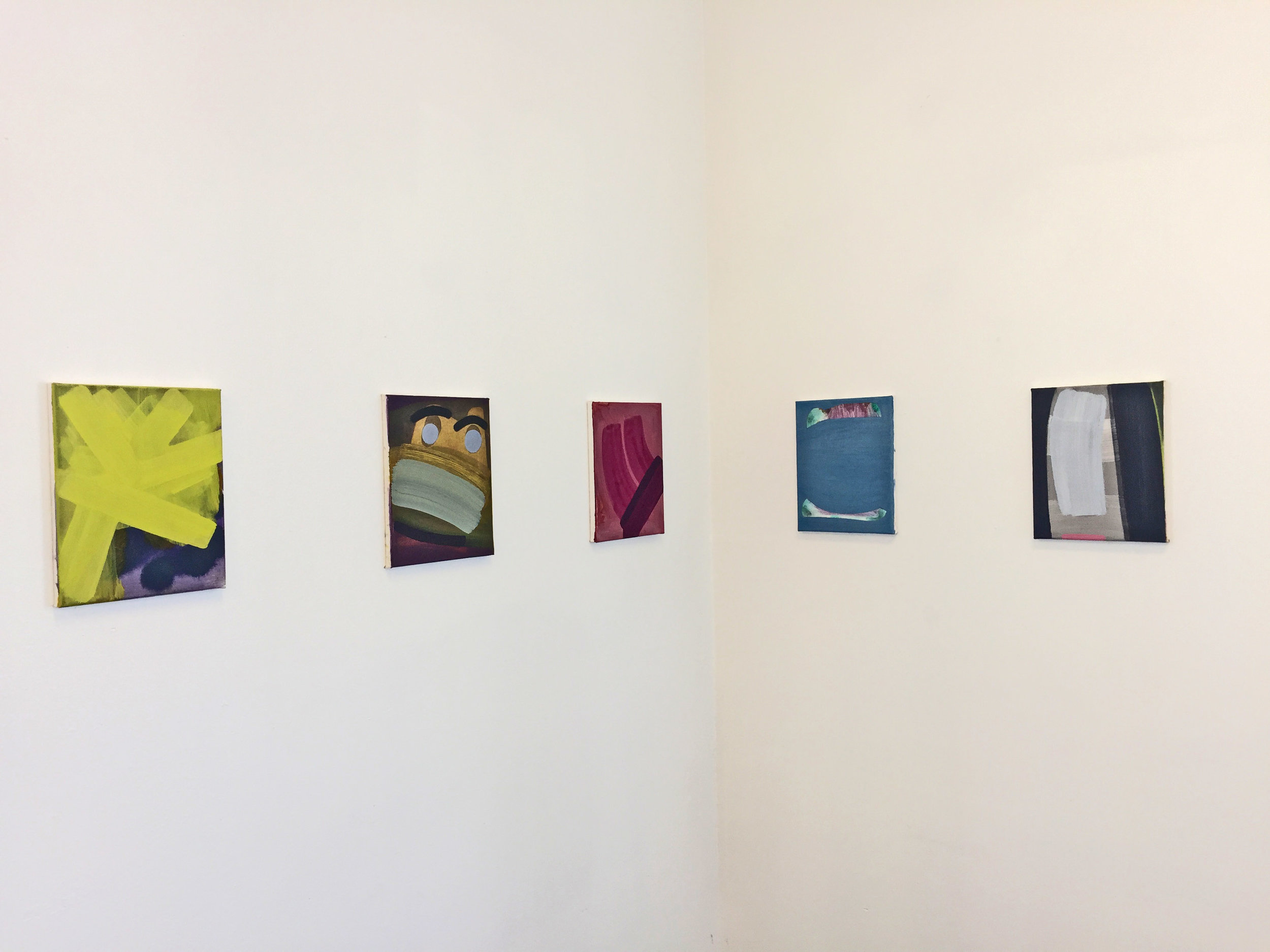 """John Millei,""""From the Same Hill"""",Installation Shot,Image Courtesy of TI-155 Gallery"""