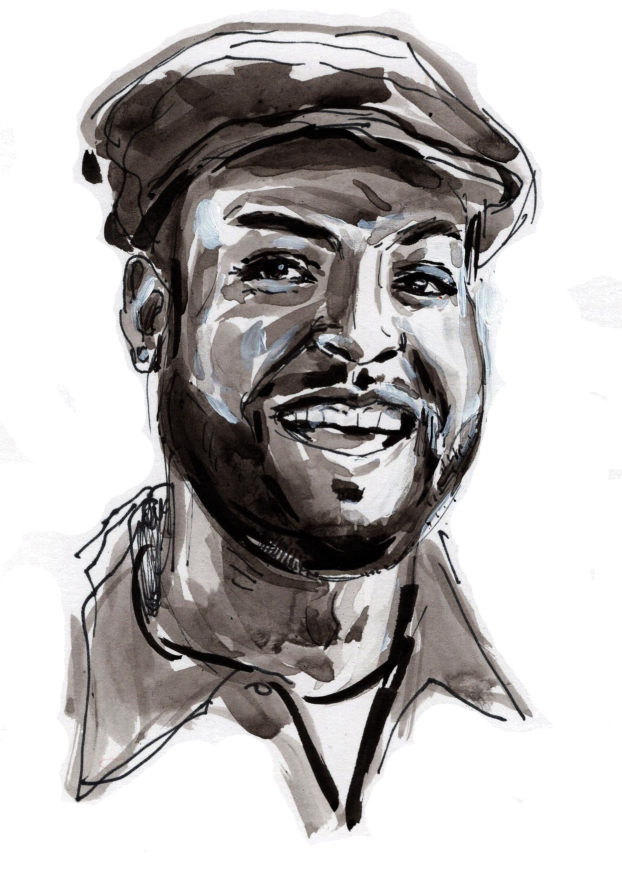 Author portrait by  Arthur Johnstone