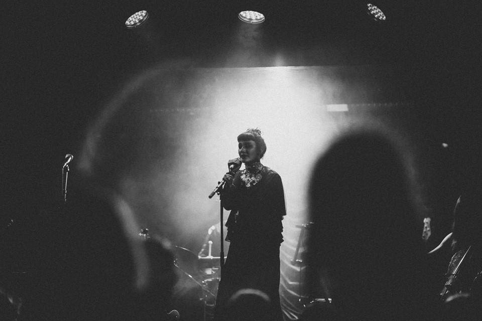 Photo Credit Joshua Donaldson. Evelyn Drach live at The Box, London, Soho