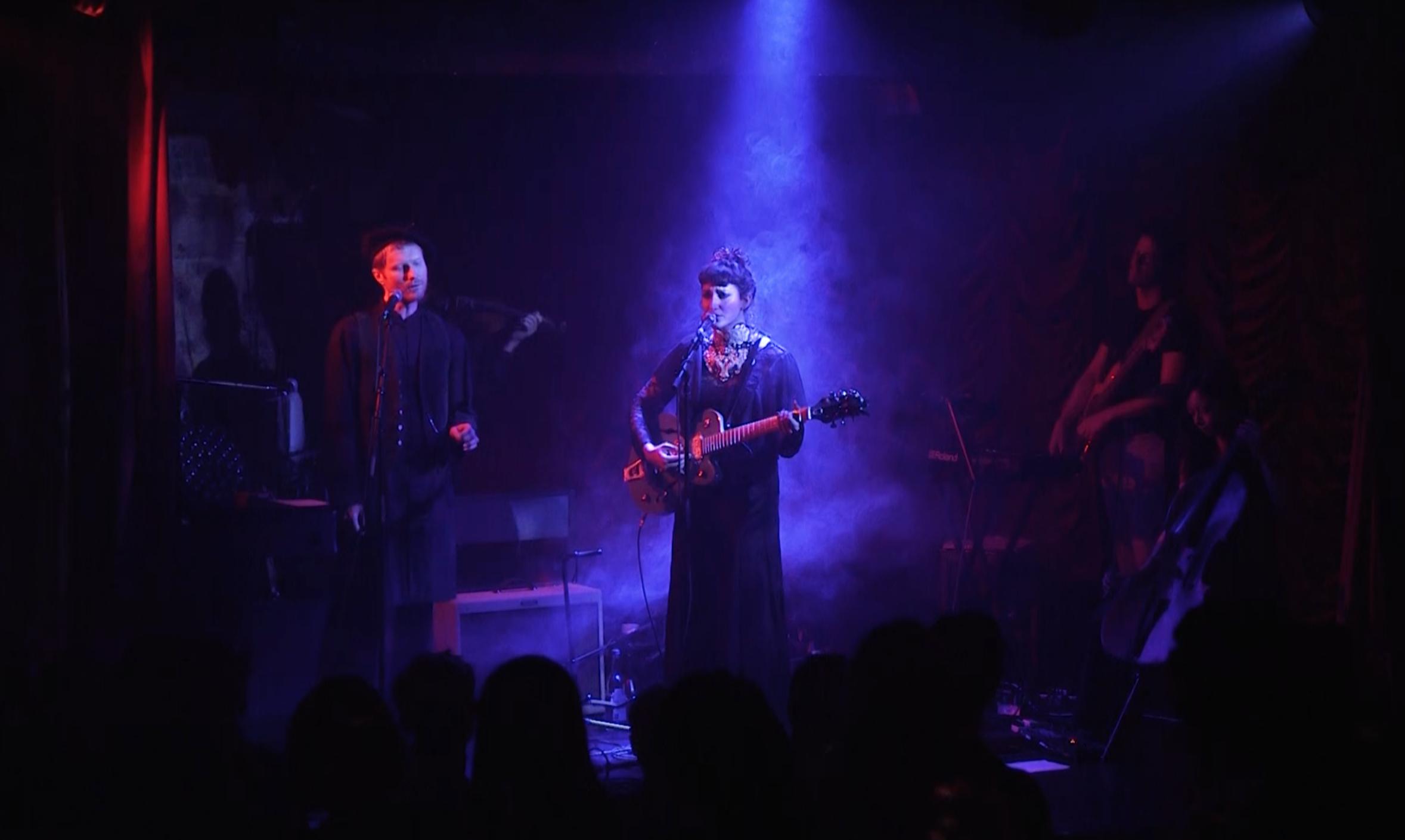 Photo Credit Joshua Donaldson, Evelyn Drach live at The Box, London, Soho