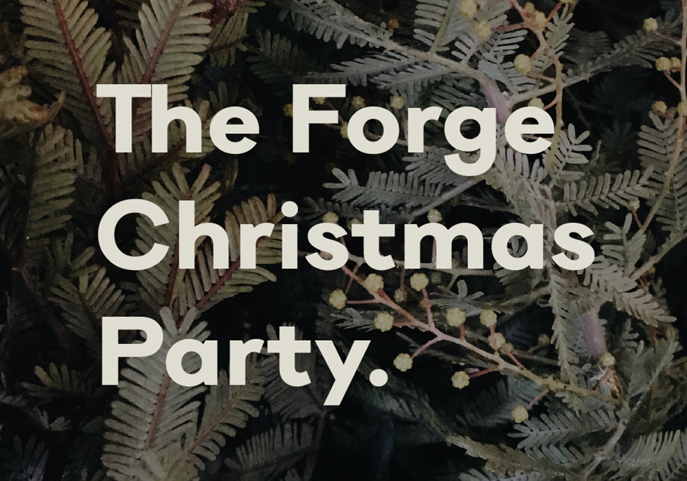 The Forge Christmas Party Bristol Event space