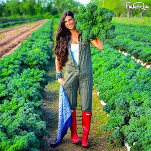 Kristina Carrillo-Bucaram - YouTube celebrity, raw vegan chef, author of The FullyRaw Diet and founder of the Rawfully Organic co-op and FullyRaw Juice.