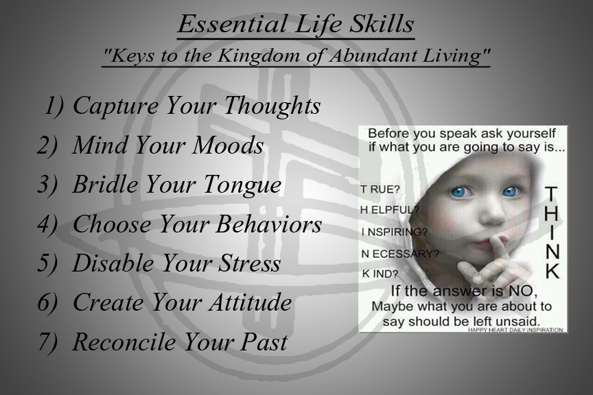 "Click Here to take ""Keys to the Kingdom of Abundant Living"" Quiz"
