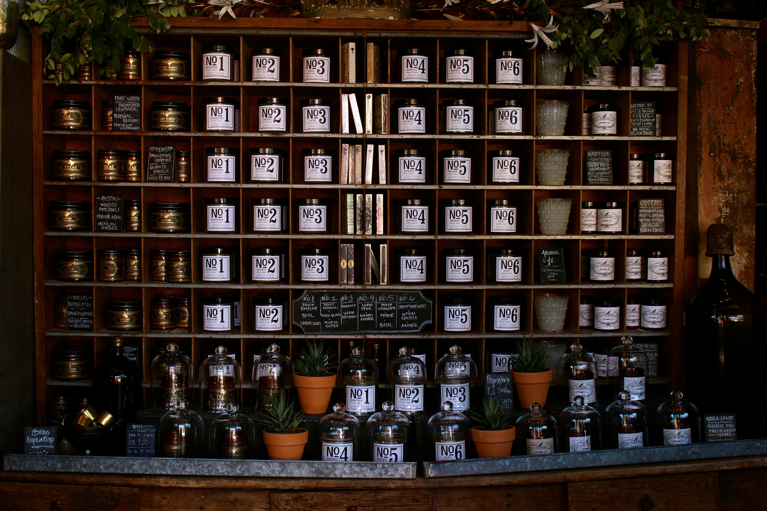 Dallas Travel Guide | Best Shops | Society Candles Gift shop