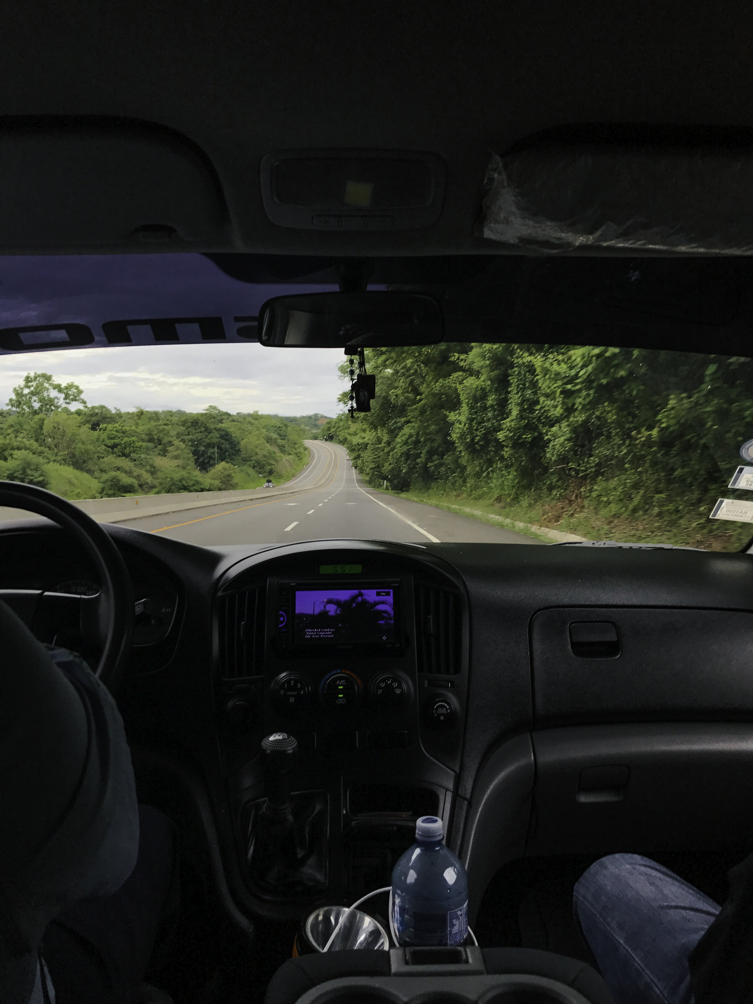 Ride from David Panama to Boca Chica