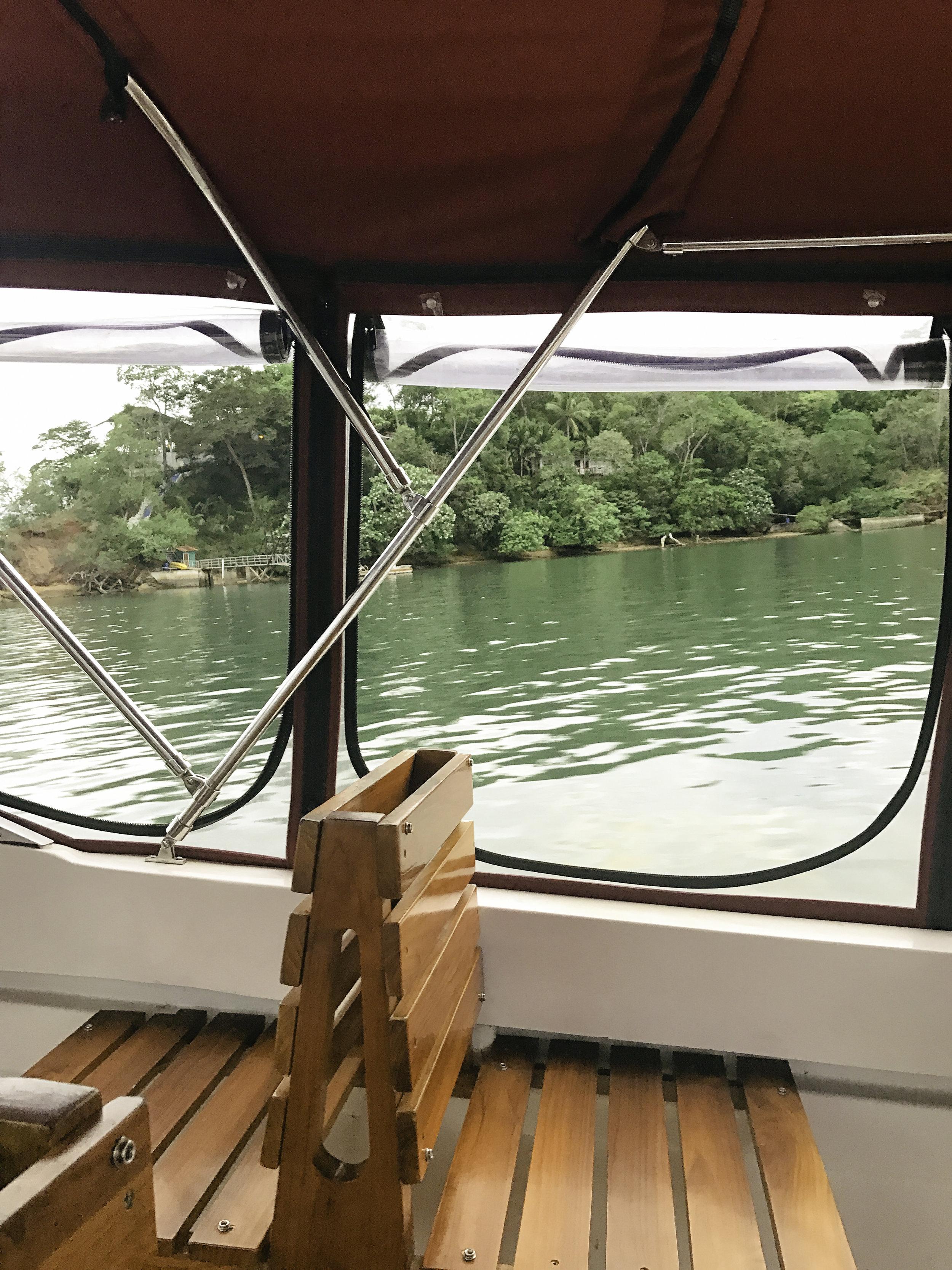 ride to isla palenque