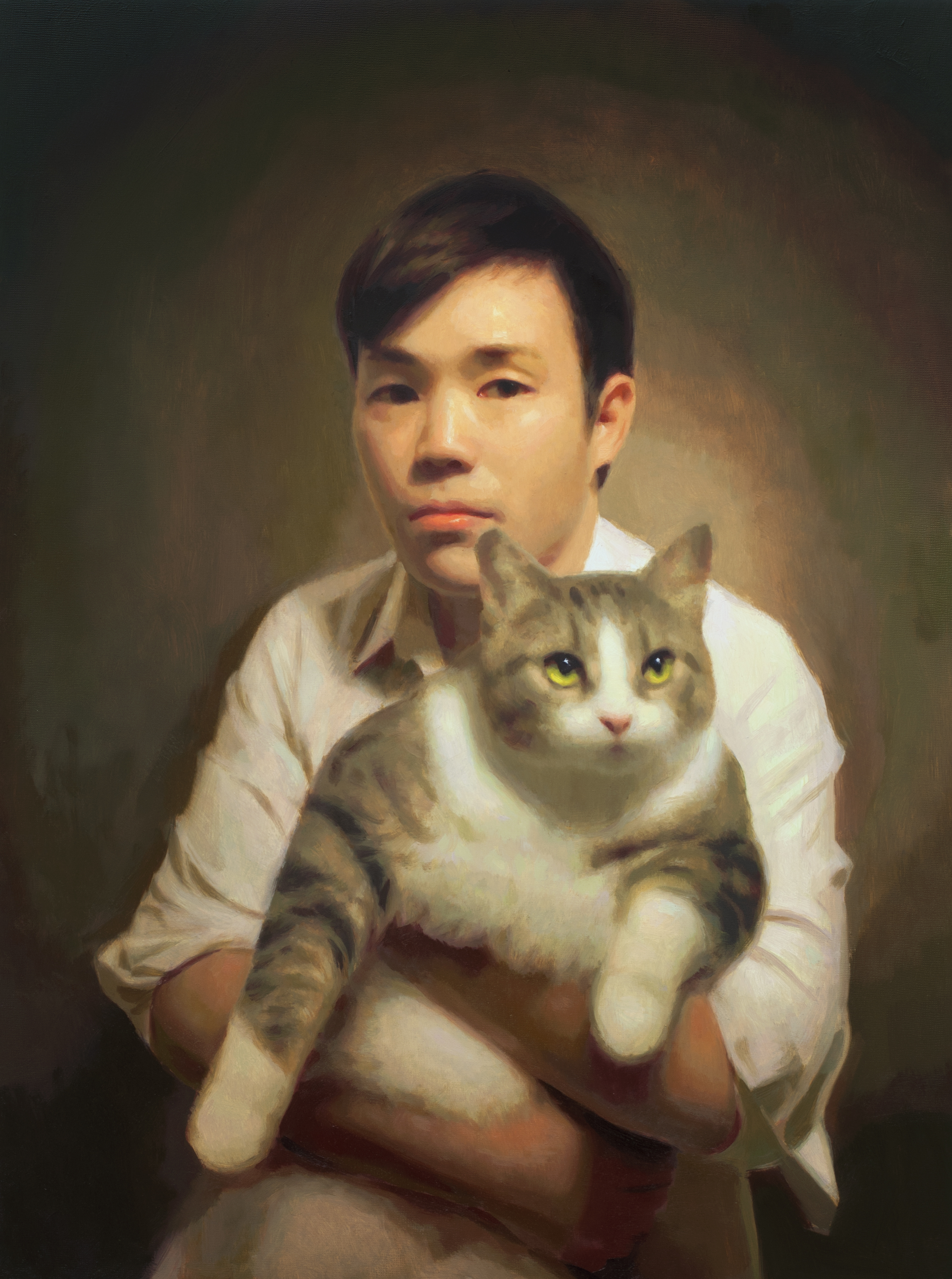Self-Portrait with a Cat.jpg