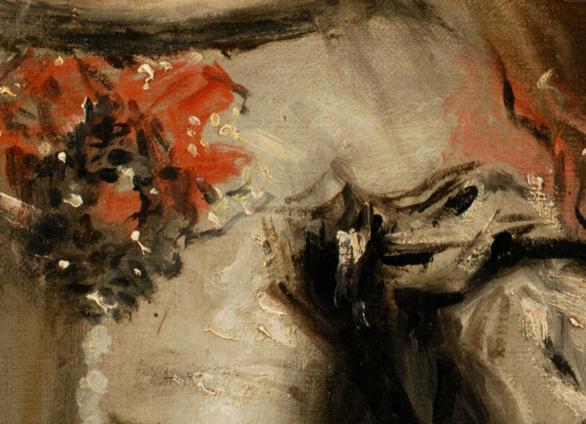 Close up of Las Meninas by Velazquez