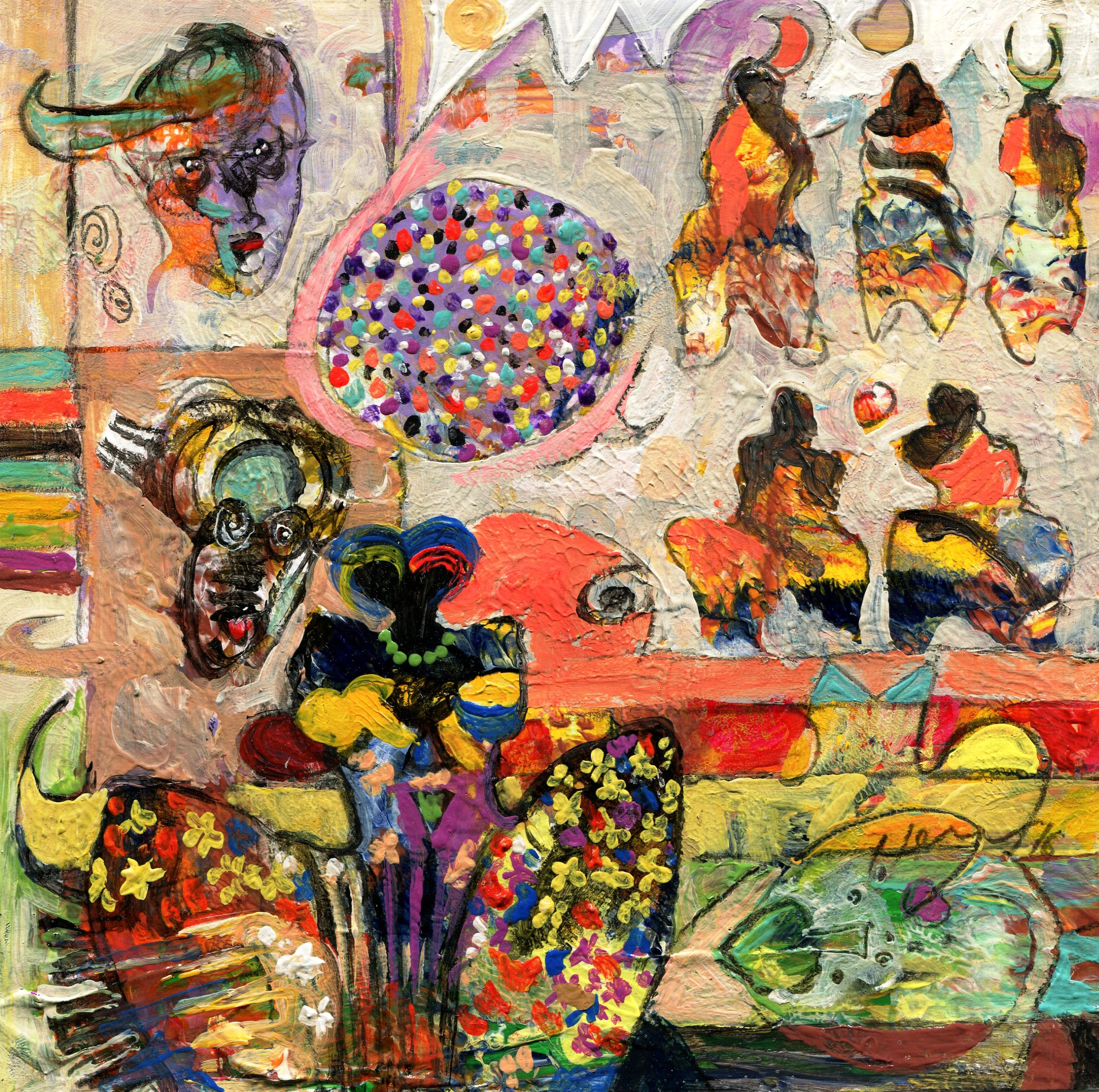 90a Hussein Salim, Spring, Acrylic on paper.jpg
