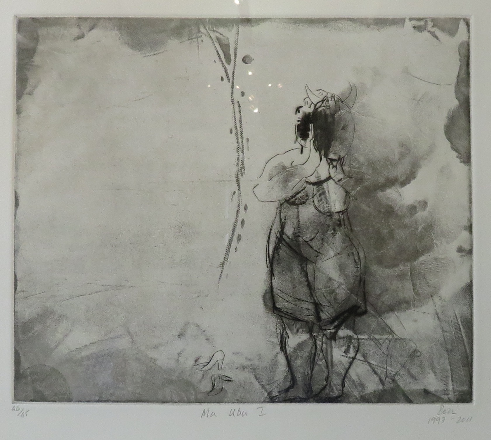 101A DEBORAH BELL, MA UBU I, ETCHING ON PAPER