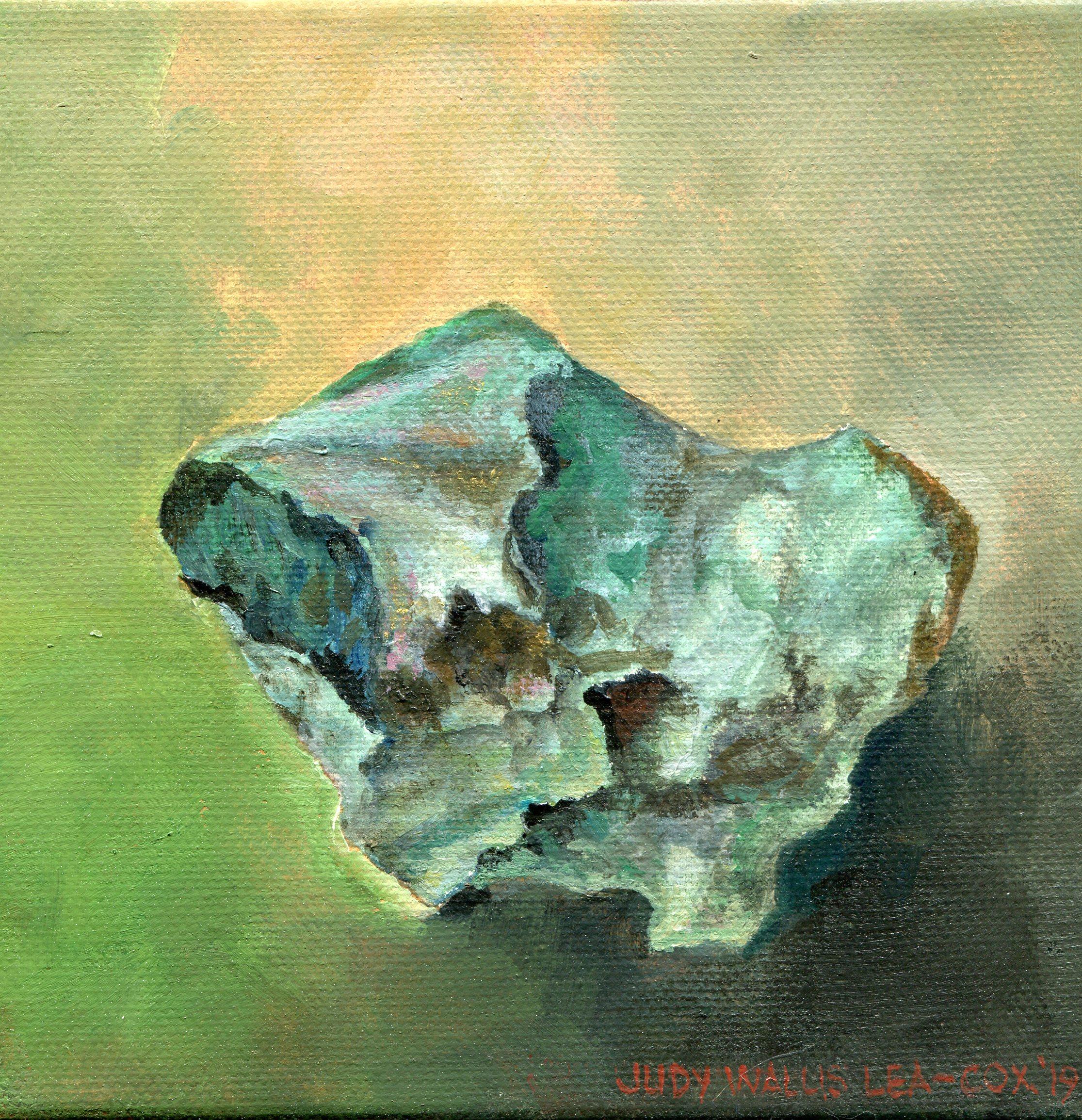 11b  Judy Lea-Cox  Verdite  acrylic on canvas