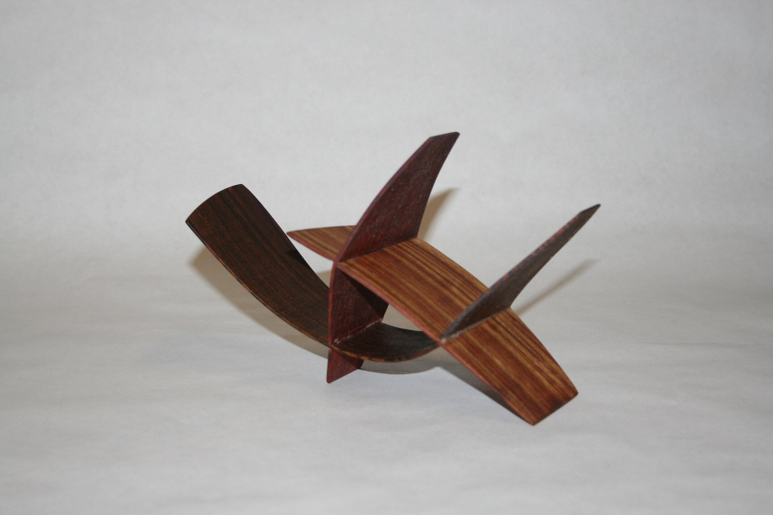 17b  John Soderlund  Improvisation 1  wood sculpture