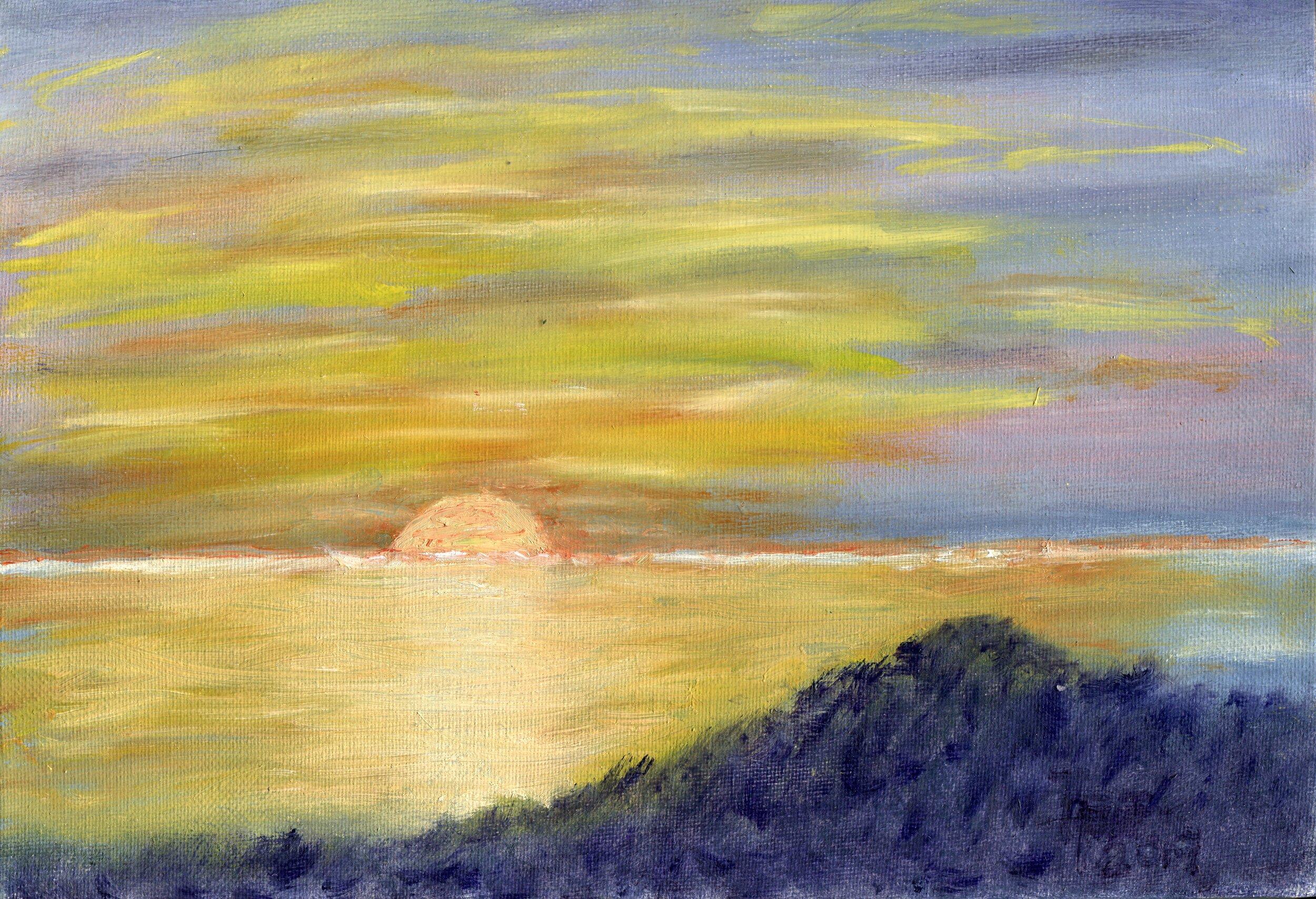 18c  Annette Farland  Ramsgate  oil on canvas