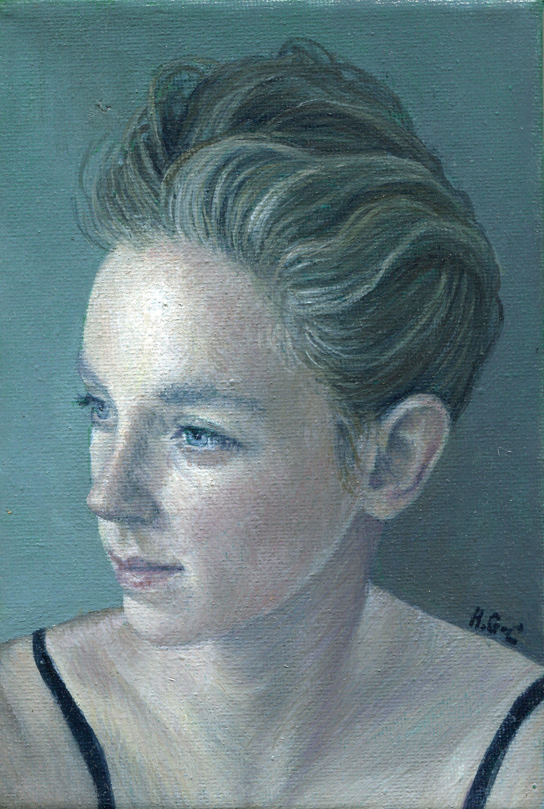 42a  Heather Gourlay-Conyngham  Tegan  oil on canvas