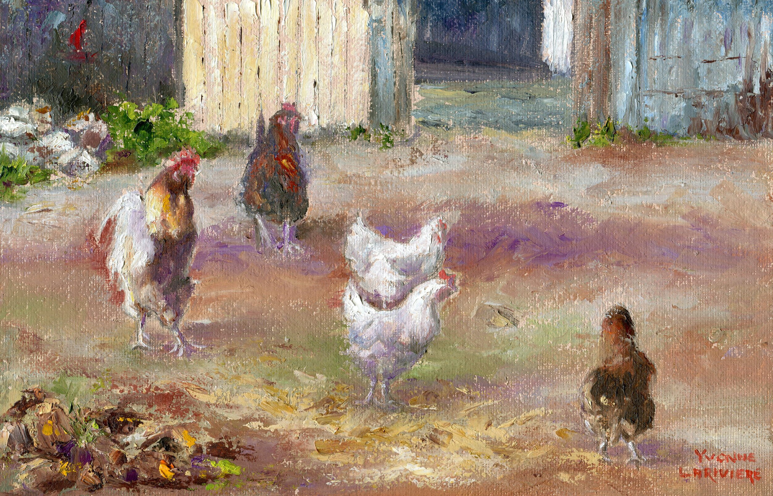 49a  Yvonne Larievere  Freedom  oil on canvas board