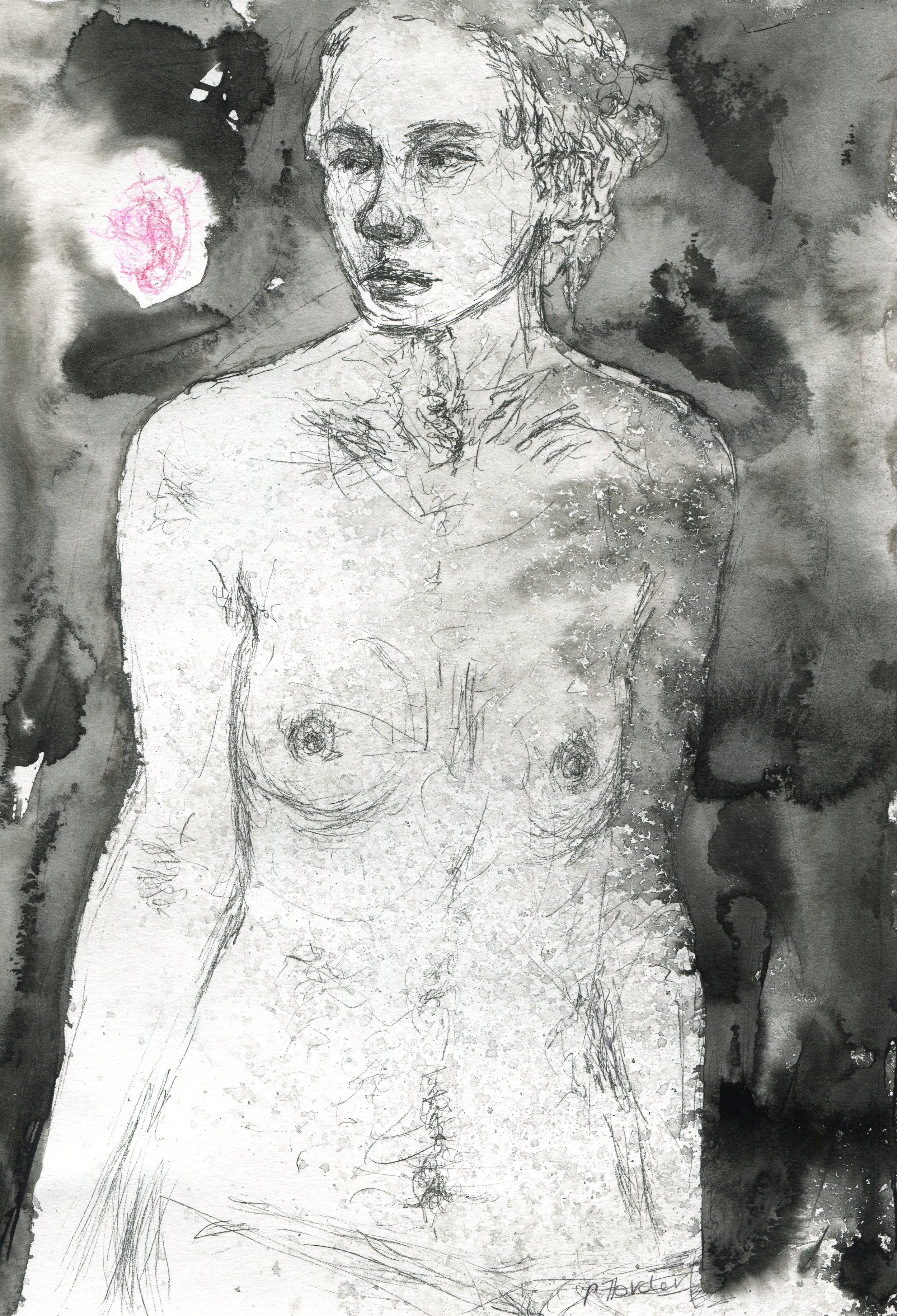68b  Penny Forder  Seperare  mixed media on paper