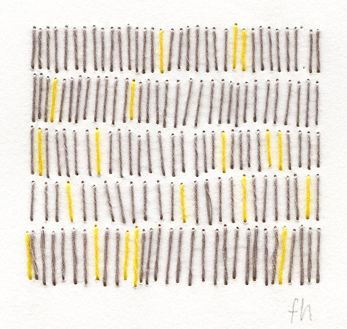 74a  Frances Harrison  Social  cohesion  cotton and paper