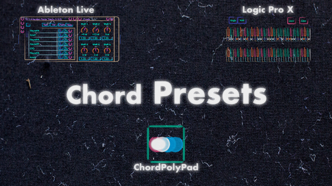 Chord presets made from pentatonic scales! -