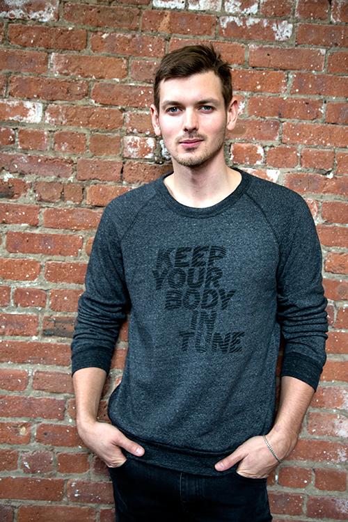 """""""KYBIT"""" Mens Fleece Sweatshirt."""