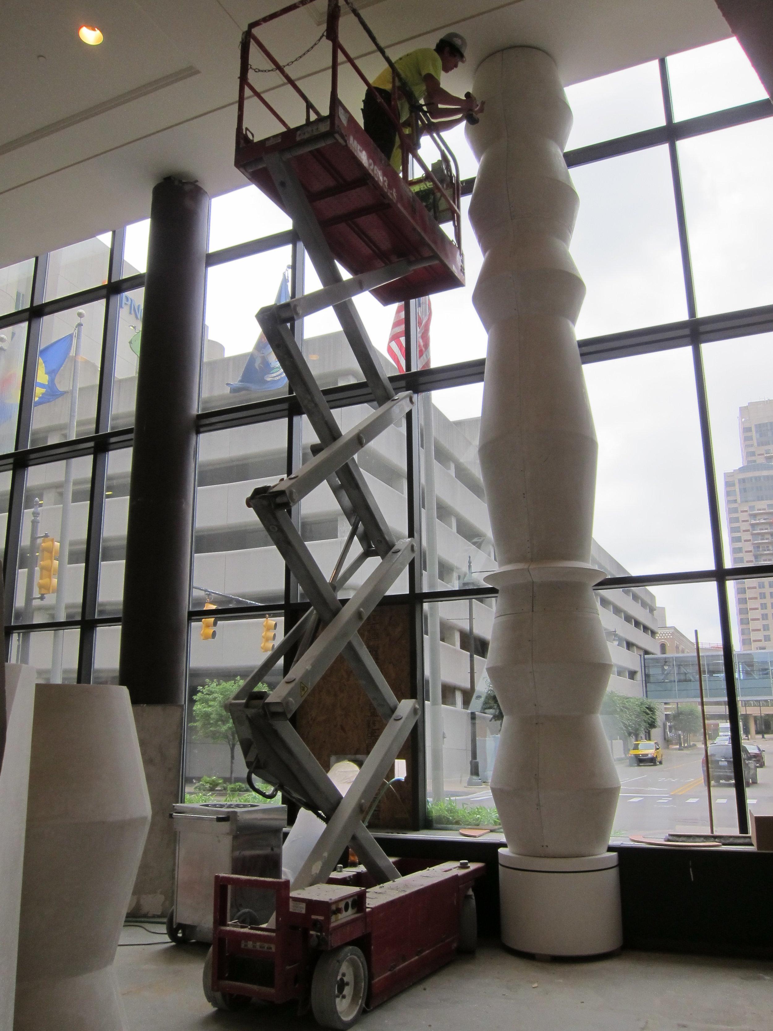 Rendezvous - column installation