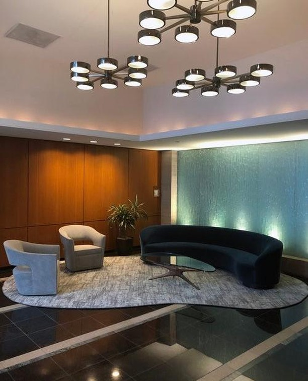 Lobby Freshen Up, Nice Entry to your home #LobbyRenov #Lighting #GDSdesign