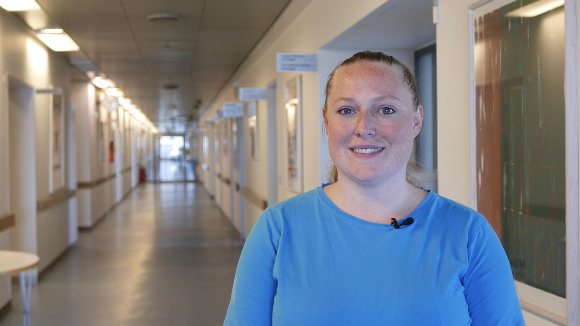 """""""Kontakt med patienter er lettere og hurtigere"""" - Ditte Pedersen, Paceteknikker på Pacemakerambulatoriet, Rigshospitalet"""