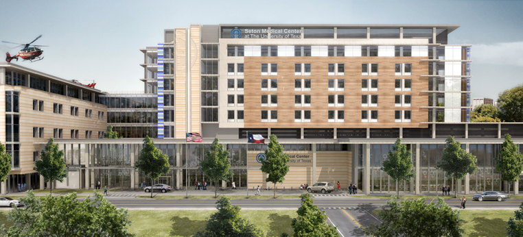Dell Medical Center Rendering (Opening 2016)