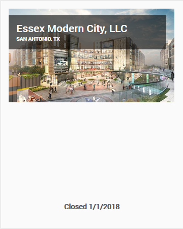 ESSEX MODERN CITY OFFERING