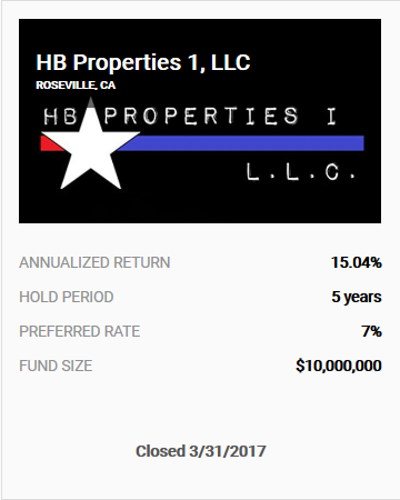 HB Properties I LLC Offering