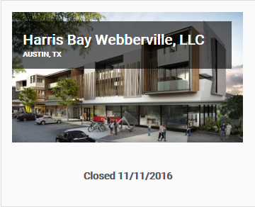 Harris Bay Webberville Offering