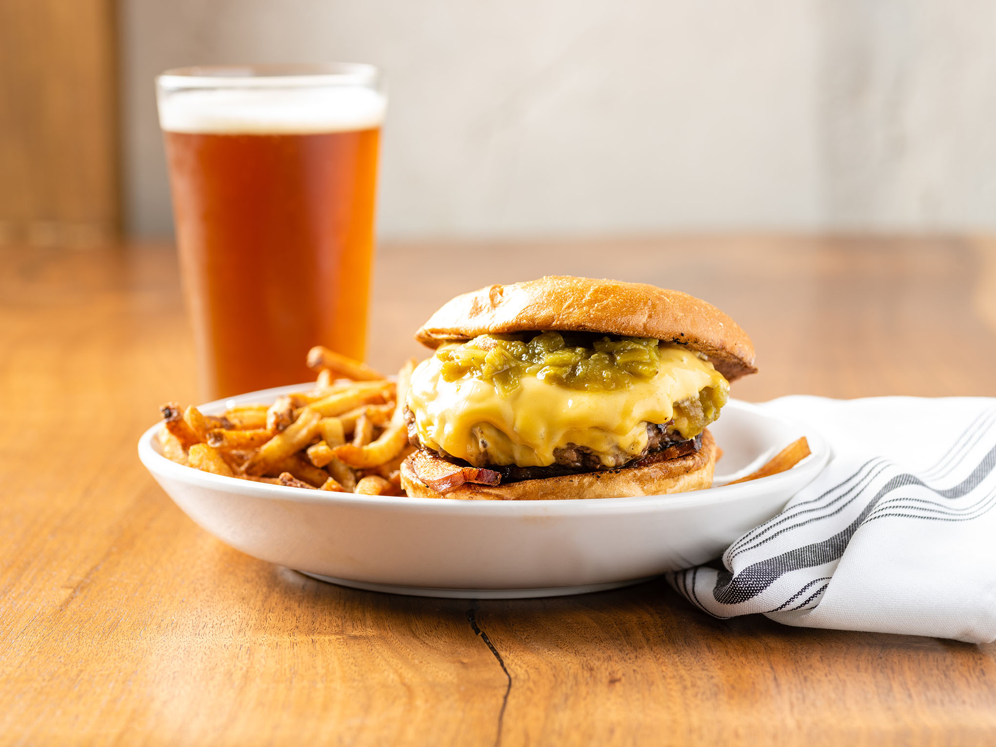 Butche and Bee Hatch Green Chili Burger-2.jpg