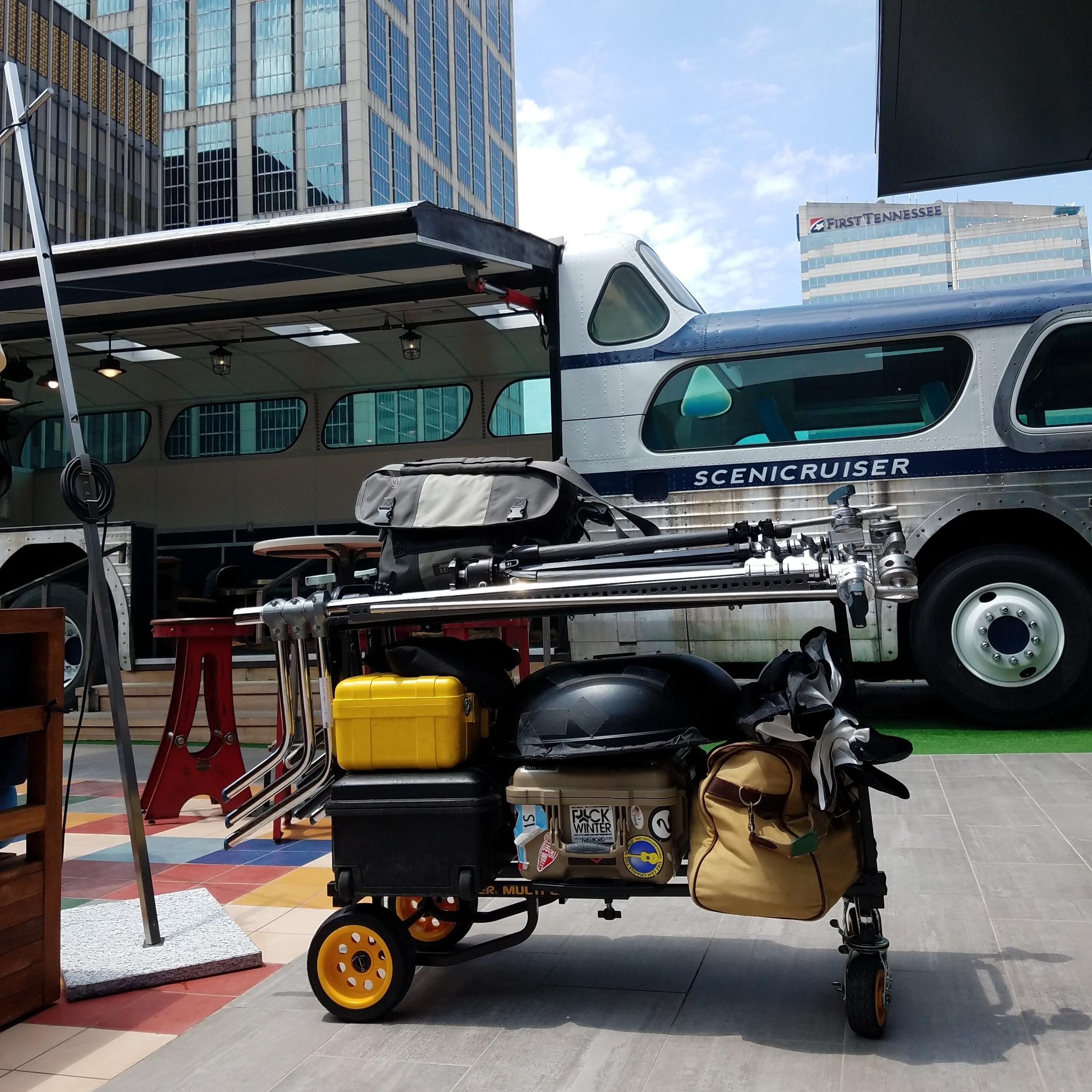 My Multi Cart R6G on location in Nashville, TN.