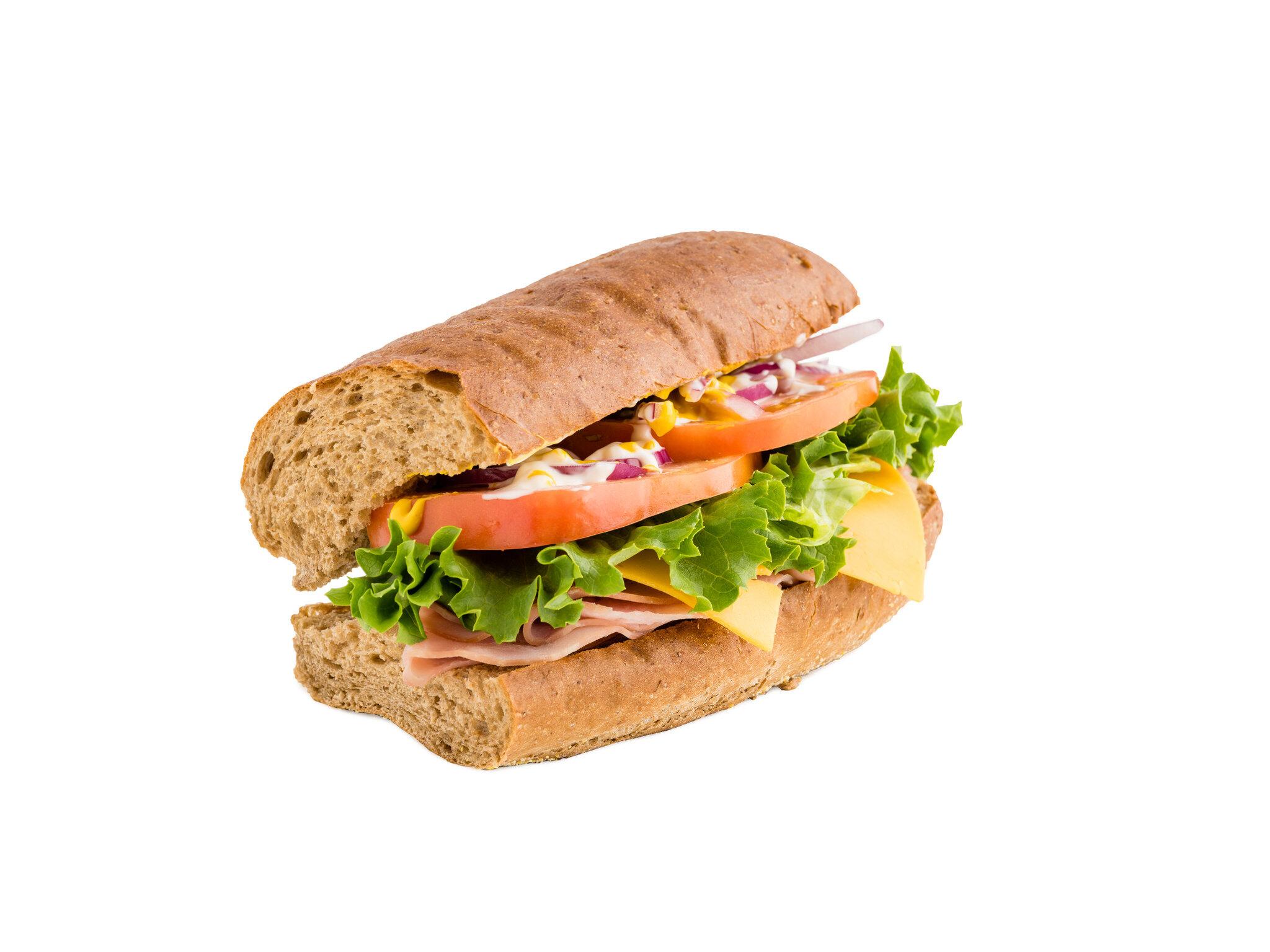 6 Inch Ham and Cheese On Wheat.jpg