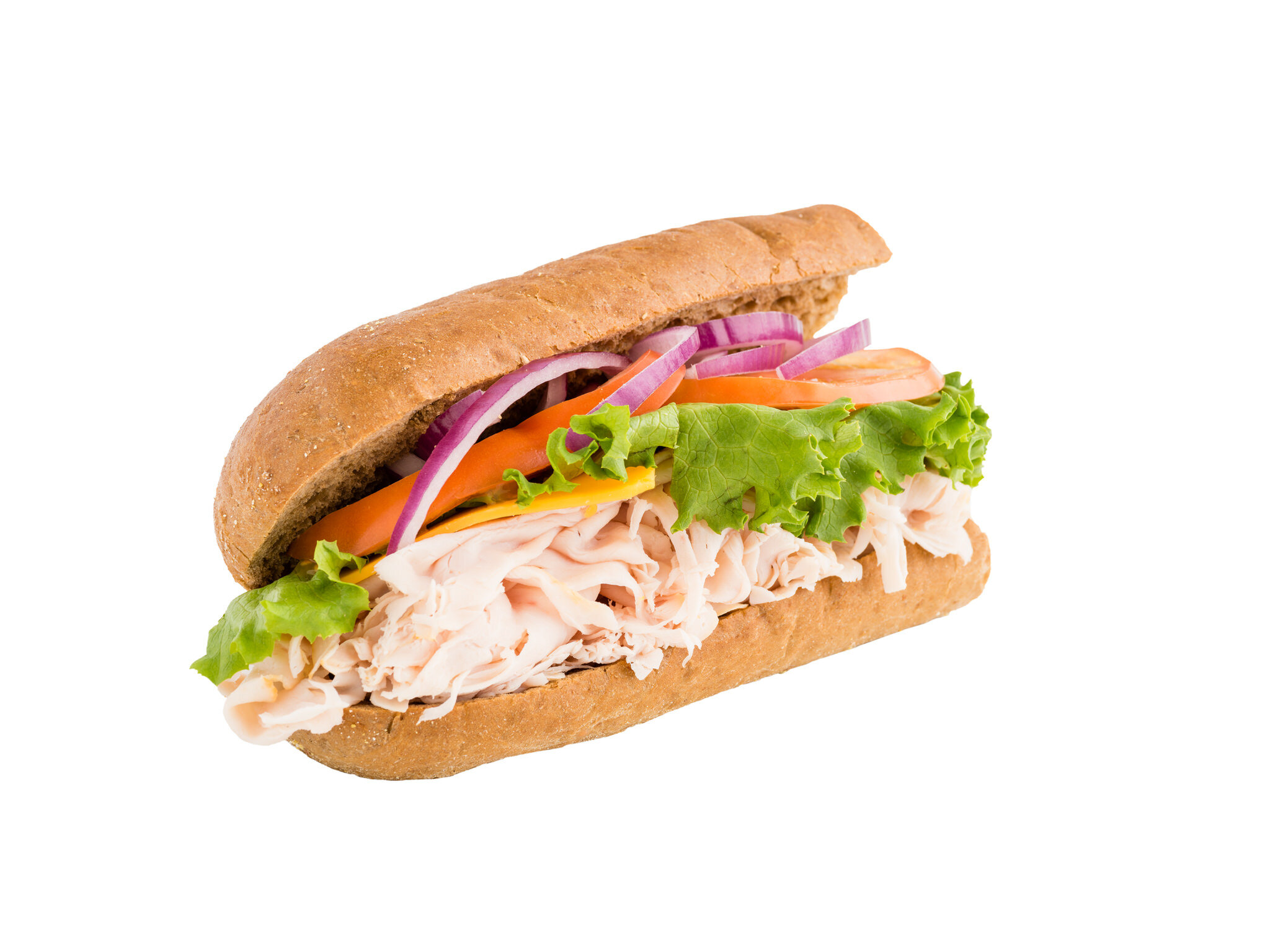 6 Inch Turkey and Cheese on Wheat.jpg