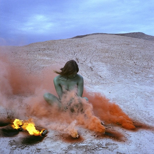 PHOTO:  Judy Chicago's IMMOLATION IV