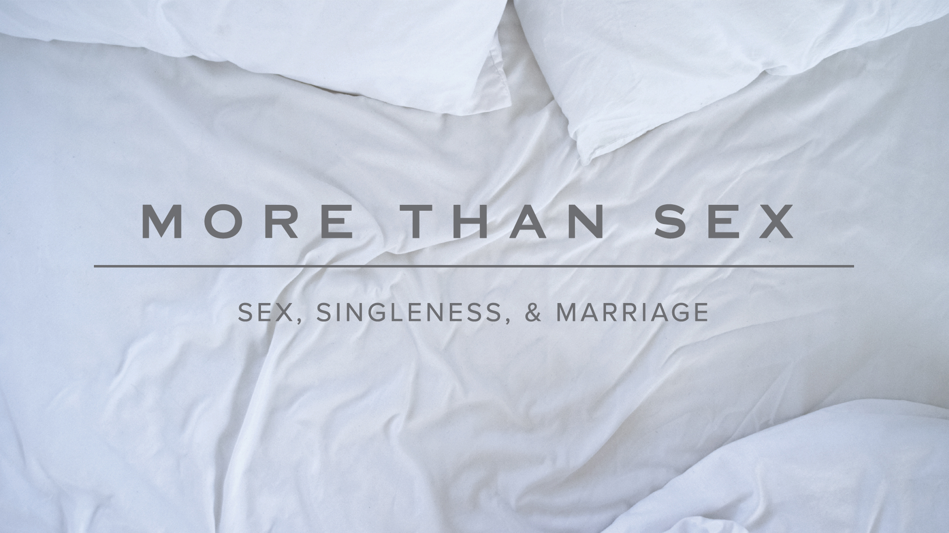 More Than Sex