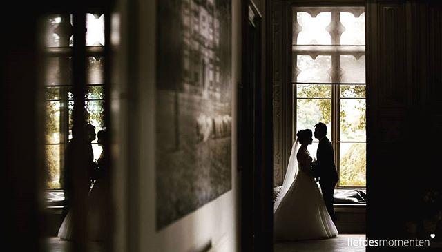 Okay. One more, but only because the couple was amazing and we just love the venue. . . #liefdesmomenten #weddingphotography #weddingphotographer #photo #weddingfilm #wedding #yesido #theperfectwedding #prewedding #trouwen #bruidsfotograaf #trouwfotograaf #bruidsfotografie #destinationwedding #bride #groom #weddingdress #kasteeldeschaffelaar #weddingvenue