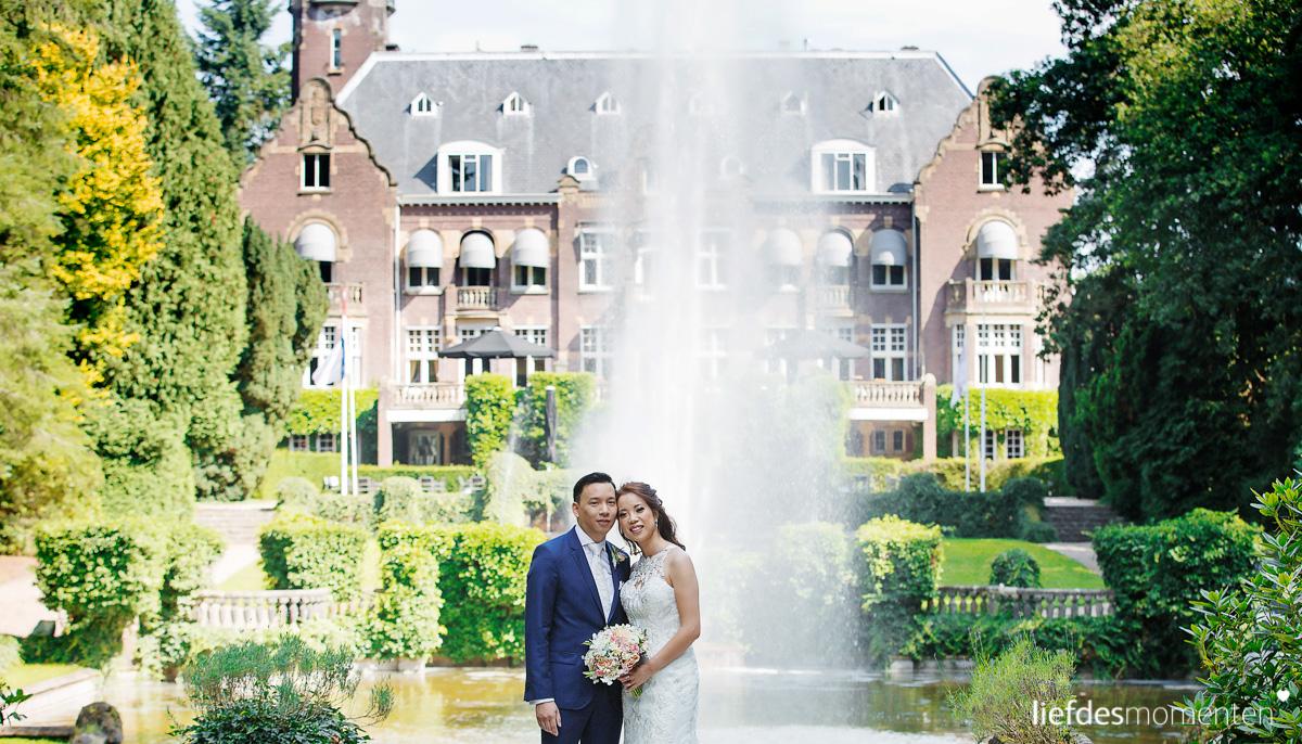 trouwen in een kasteel